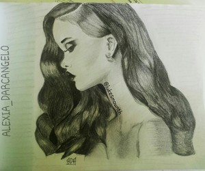 black, rihanna, and draw image