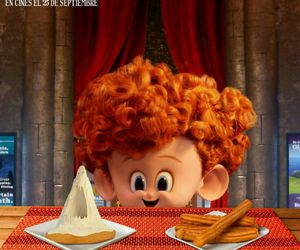 baby, food, and hotel transylvania image