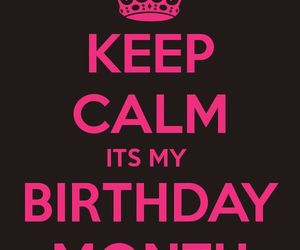 birthday, december, and keep calm image