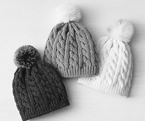 fashion, winter, and hat image
