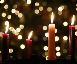 advent, candles, and luxury image