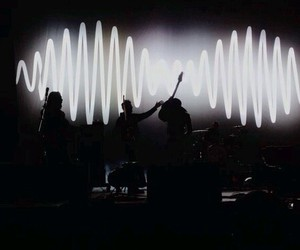 am, arctic monkeys, and concert image