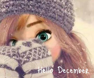 anna, december, and winter image