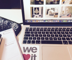 we heart it, laptop, and weheartit image