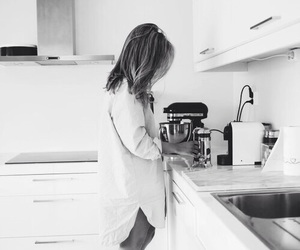 morning, kitchen, and shirt image