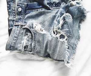 jeans, shorts, and denim image