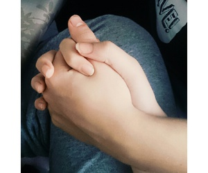boy, holding hands, and cute image