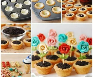 flowers, diy, and food image