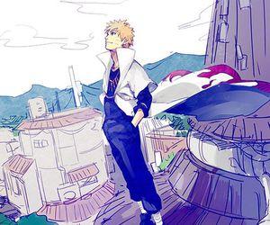 naruto, anime, and hokage image