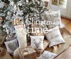 christmas, presents, and christmas tree image