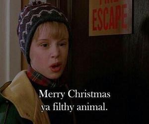 christmas, home alone, and merry christmas image