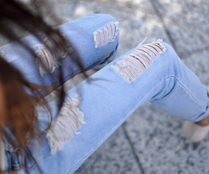 jeans, style, and pretty image