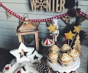 winter, christmas, and decoration image