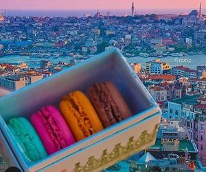 colorful, macarons, and istanbul image