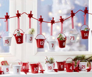 calendar, christmas, and window image