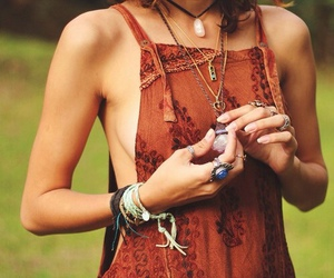 girl, hippie, and indie image
