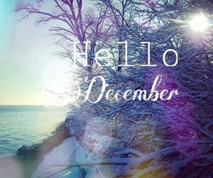 blue, hello, and december image