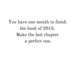 quote and december image