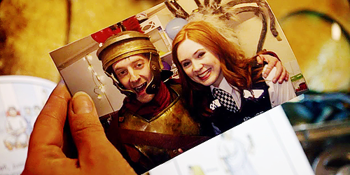 amy, doctor who, and dw image