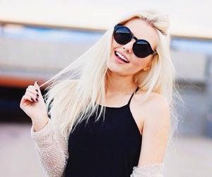 hair, sunglasses, and aspyn image