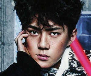 exo, vogue, and oh sehun image