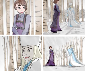 disney, frozen, and queen idun image