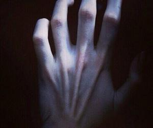 hand, grunge, and dark image