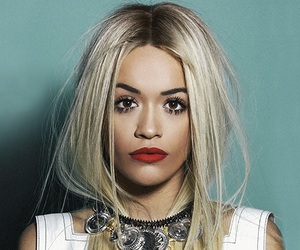 rita ora, blonde, and singer image
