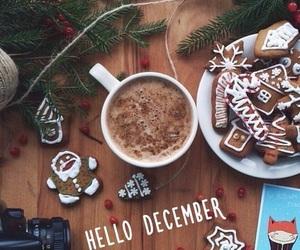 christmas, december, and food image