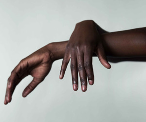 black beauty, hands, and style image