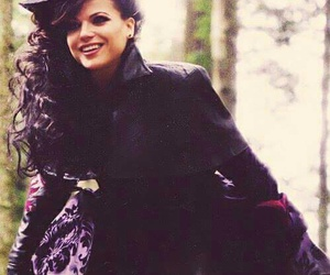evil queen, regina mills, and once upon a time image