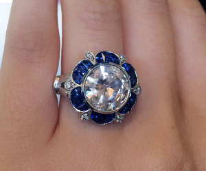 rings, weddings, and sapphires image