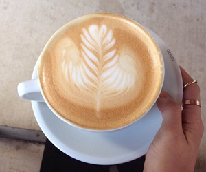 drink, inspiration, and latte image