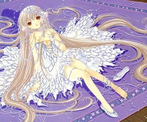 chobits, anime, and chi image