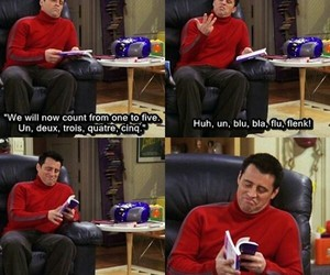 friends, Joey, and funny image