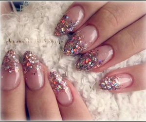girl, glamour, and glitter image