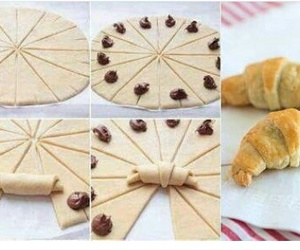 food, diy, and croissant image