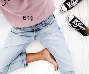 fashion, style, and bed image