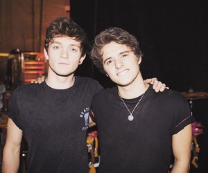 the vamps, connor ball, and brad simpson image