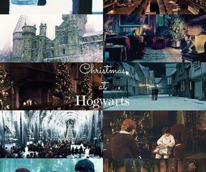 christmas, hogwarts, and december image