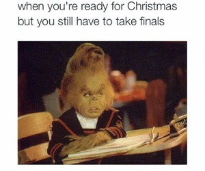 christmas, funny, and school image