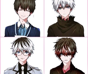 tokyo ghoul, anime, and ken image