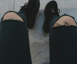 creepers, fashion, and idk image