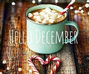 december, hello, and christmas image