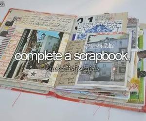 scrapbook and book image