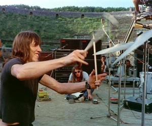 Pink Floyd, roger waters, and david gilmour image