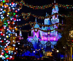 christmas, disney, and light image