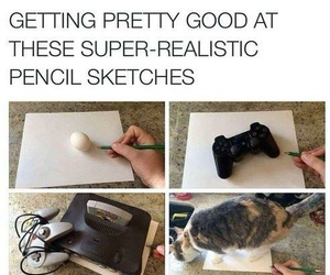 funny, art, and drawing image