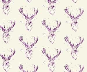 deer, background, and hipster image