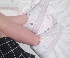 white, grunge, and nike image
